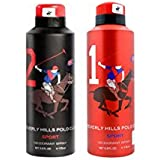 Beverly Hills Polo Club One No.2 And One No.1 Deodorant Combo Pack For Men(Pack Of 2)