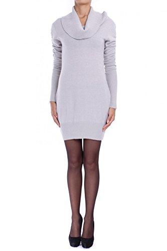 ANTA Q'ULQI - Abito / Vestito a maglia a collo alto con alpaca - grigio, XL