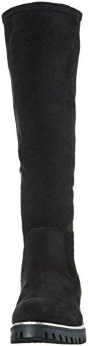 bugatti J77336, Damen Langschaft Stiefel Schwarz (schwarz 100)