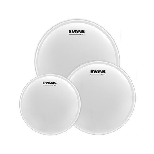 Evans etp-uv1-r COATED TOM pack-rock Drum Kopf (Drum Shell Pack)