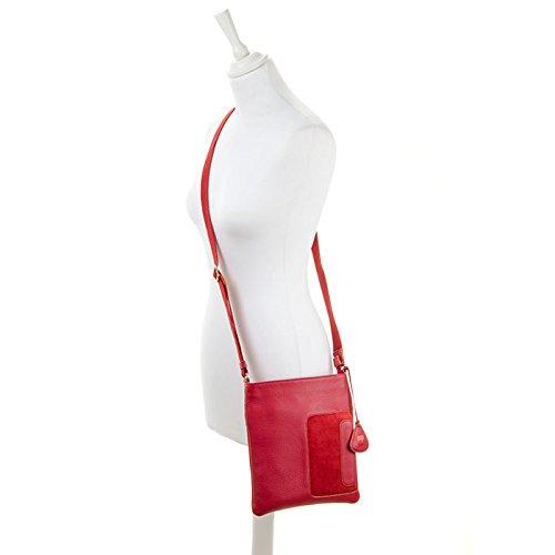 Mywalit , Sac bandoulière pour femme Standard red