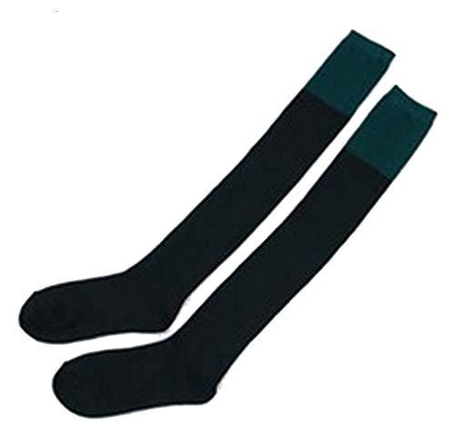 Solid Color Knie-socken (zhaoaiqin 1 Paar Frühling und Herbst Baumwolle hohe Socken Solid Color Nähte über das Knie Mittelschüler Lange Rohr Socken Durchschnittliche Code, Farbe 5)