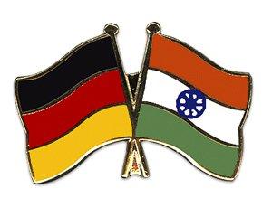 Yantec Freundschaftspin Pin Deutschland Indien