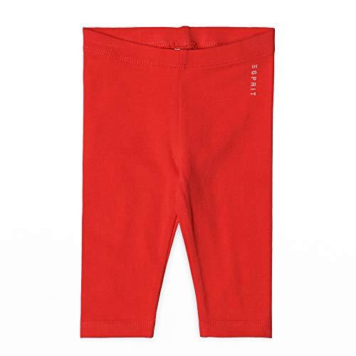 ESPRIT KIDS Baby - Mädchen Leggings Leggings, per Pack Rot (Pinky Red 357), 62 (Herstellergröße: 62)