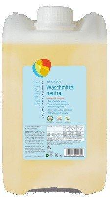 Sonett Waschmittel Sensitiv: Rein pflanzliche Tenside, ohne petrochemische Inhaltsstoffe, 100% biologisch abbaubar, 10 l