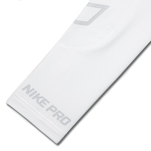 Nike Pro Hyperwarm Compression Lite Collant Homme White/Lt Grey
