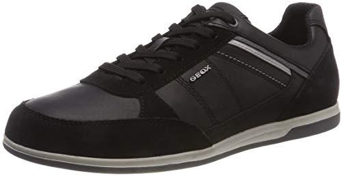Geox U Renan B, Zapatillas para Hombre, (Black C9999), 44 EU
