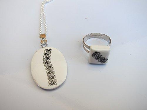 collar-realizado-a-mano-con-tatuaje-para-uas-imitando-encaje-o-cenefa-cadena-baada-en-plata-y-engarc