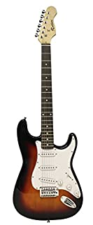 Rockburn Classic ST Style Electric Guitar - Sunburst (B001V65T80) | Amazon price tracker / tracking, Amazon price history charts, Amazon price watches, Amazon price drop alerts
