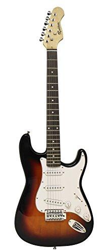 Rockburn - Chitarra elettrica Stratocaster Sunburst