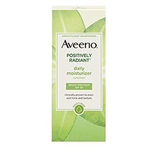 Aveeno Active Naturals Positively Radiant Daily Moisturizer SPF-30 UVA/UVB Sunscreen 73 ml (Sonnenschutzmittel)