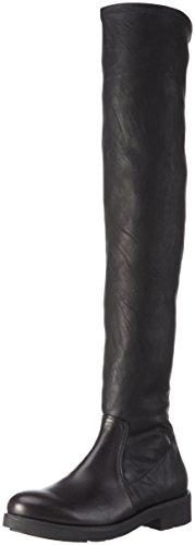 Tosca Blu - Stivali sopra il ginocchio, non imbottiti da Donna, colore Nero (C99), taglia 39 EU