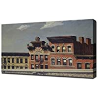 Edward Hopper - From Williamsburg Bridge 1928 - Stampa Artistica Su Tela - Stampa Tela Canvas
