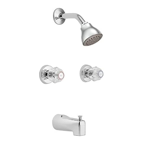 Moen 2982 Chateau Chrome Standard Tub and Shower by