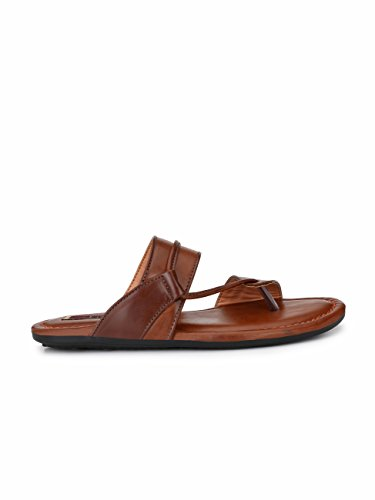 d255e46d88fa Buy Fentacia Men Tan Casual Sandals on Amazon