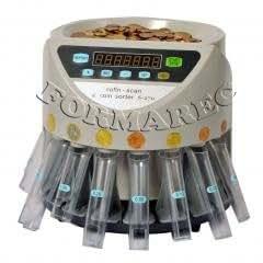 FORMAREC - Compteuse trieuse de pièces TC13T avec kit de mise en tubes