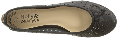 Molly Bracken Ladies Ro01 Ballerinas Black - Black (black)