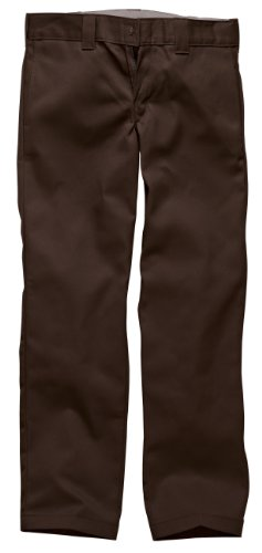 Dickies - Pantalon - Large - Homme Marron (Chocolate Brown)