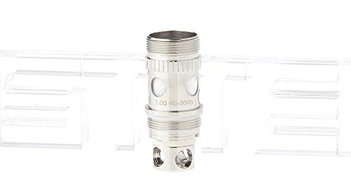 Authentic Aspire Atlantis V2 Atomizer Replacement Coil Heads (5-Pack) , 1.0ohm (40-50W) (Authentic Tank)