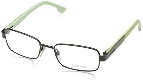 Diesel brille dl5227 097 49 montature, grigio (grau), 49.0 unisex-bambini