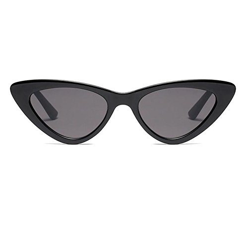 Hzjundasi Moda Mod Chic Super Cat Eye Triangle Gafas de sol Mujer Vintage Retro Eyewear