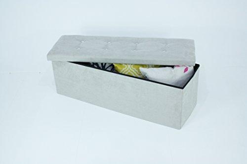 x-large-grey-suede-luxury-ottoman-diamante-pouffe-stool-folding-storage-box-collapsible-110x38x38-cm