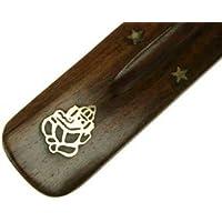 Yogabox Räucherstäbchenhalter Holz Ganesha 25 cm preisvergleich bei billige-tabletten.eu