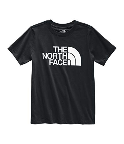 The North Face Women's Short Sleeve Half Dome Tee, TNF Black/TNF White, XS - The North Face V-ausschnitt-shirt