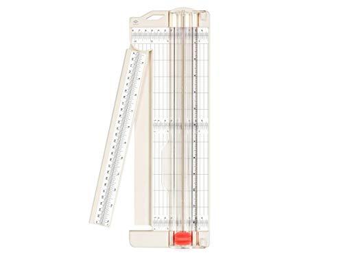 BIRA Craft Papier Trimmer mit-ausschwenkbarer Arm, 7,6x 30,5cm für Gutschein, Craft Papier und Foto (La Crafts Gutschein)
