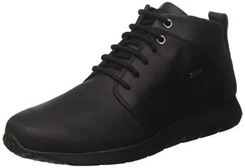 Geox u gektor b abx a, scarpe uomo, nero (black), 43 eu