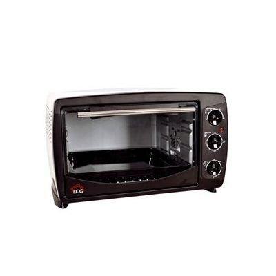 DCG Eltronic MB9824 N - Forno elettrico, termostato regolabile, ventilato, spia luminosa, 4 posizioni di calore, Nero/Grigio, 1380 W, 24 litri, 44 x 29 x 30 cm