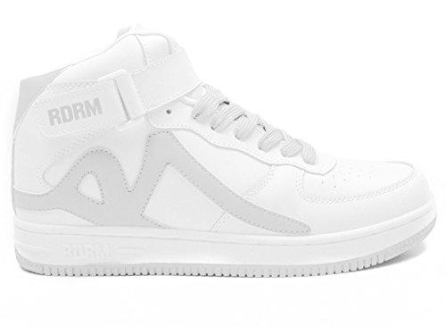 REDRUM Herren Sneakers Sportschuhe Schuhe Streetwear Basketball Forza High Top (Dunk Sneakers Shop)