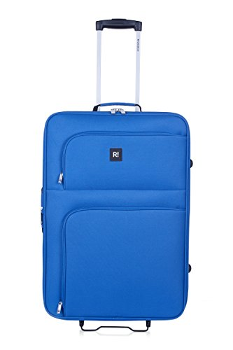 REVELATION Alex – 2 Wheel Medium Expandible Rollercase Blue 3.5kg Maleta, 66 cm, 61 liters, Azul (Blue)