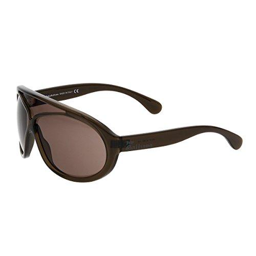 john-galliano-color-dark-brown-size-one-size