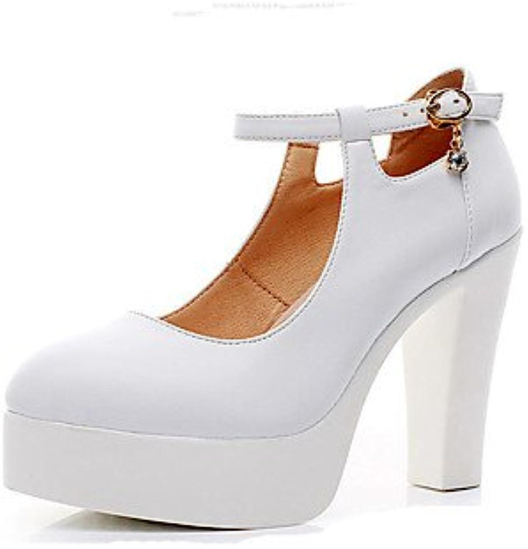 La Mujer Tacones Zapatos Formales De Microfibra Sintético Pu Primavera Verano Oficina Boda &Amp; Carrera Parte...
