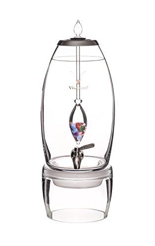 Frei * VitaJuwel-Glas Wasser Spender Grande 7Liter für Gesundheit Clubs & Spas (Flakon Verkauft...