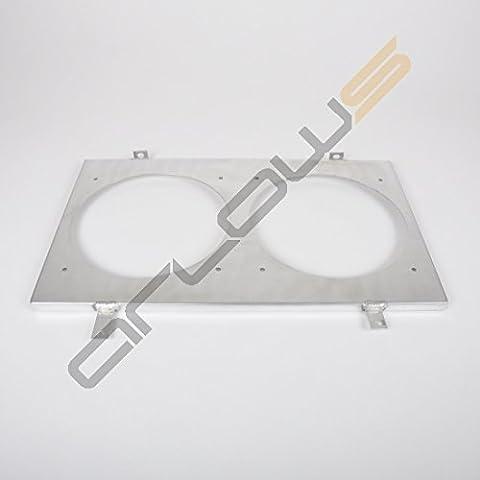 Alluminio Ventola lamiera Nissan Skyline R33RB25(supporto/fissaggio per (Spal Ventole Di Raffreddamento)