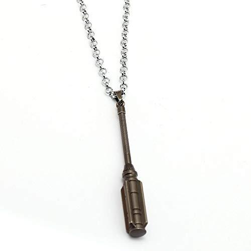 Film Thor Ragnarok Halskette Thors Neue Hammer Mjolnir Anhänger Mode Link Kette Halsketten Frauen Männer Charm Geschenke Schmuck