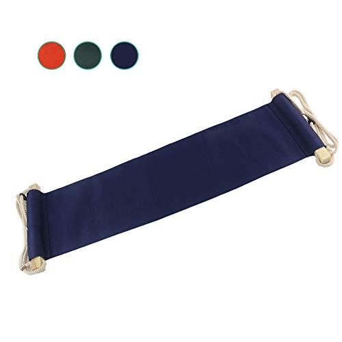 CXQZLH Canvas-Fußstütze, Schreibtisch-Hängematte, Mini-Büro Unter Schreibtisch-Fußstütze, Fuß-Hängematte, Verstellbare Schreibtischfüße-Hängematte,Emerald (Kopf Traktion)