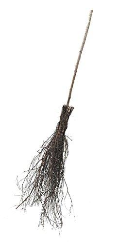 Pflanzenfuchs® Reisigbesen Birke 165 cm mit Stiel - handgefertigt und naturbelassen