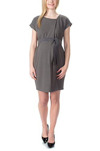 Bellybutton - Jessica - Kleid 1/4 Arm, Vestito Donna Grau (charcoal Gray 1290)