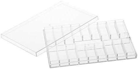 P PRETTYIA PRETTYIA PRETTYIA Boîte de Récipient Transparents Rectangle Conteneurs Empilables Stockage de Perls Boules   Promotions  2d98bd