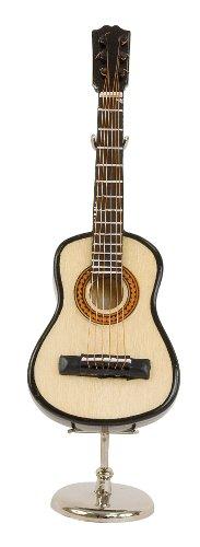Chitarra classica in miniatura - in legna verniciata usato  Spedito ovunque in Italia