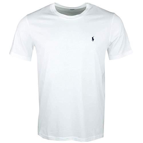 Polo Ralph Lauren Crew Neck Shirt Unterziehshirt Pyjama Top Gr. XXL White (004) (Crewneck Pyjama-shirt Herren)