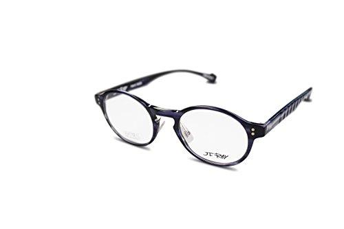 dbe52ad90c9 JF Rey Brille Unisex eyeglasses rund JF1329 col.0100 Grau Schwarz