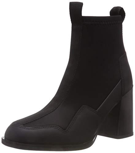 g star stiefeletten G-STAR RAW Damen Gepson Sock Boot Stiefeletten, Schwarz (Black 990), 39 EU