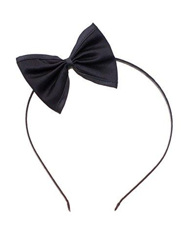 Haarreif schwarz mit Schleife (Frisuren Lange Jahre Haare 50er)