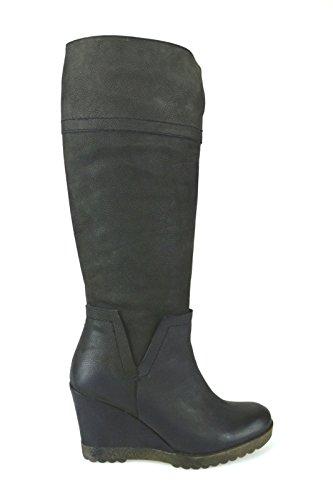 scarpe donna KEYS stivali nero pelle AJ119 (38)