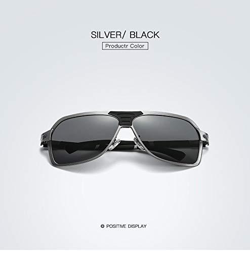 ZGWWNH Brillen Einzigartige Sonnenbrillen Männer Große Brillengestell Luxus Designer Damen Sunnies HD Klare Linse Gafas De Sol Big Box Eyewear Polarized 1