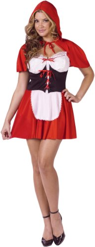 ?? Red Hot Riding Hood Adult Costume Red Hot Riding Hood Adult Costume Halloween Size: Medium / Large (10-14) (japan ()